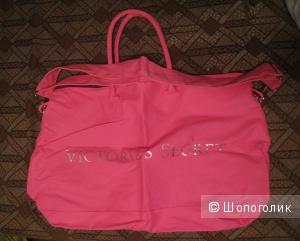 Розовая пляжная сумка Victoria's Secret