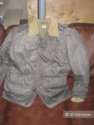 Куртка-пиджак C P Company цвет тёмно-зелёная олива размер L
