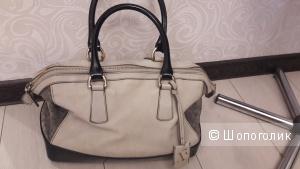 FURLA сумка:  все оттенки серого))