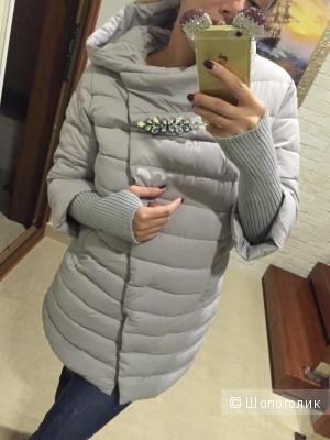 Теплая куртка-пуховик