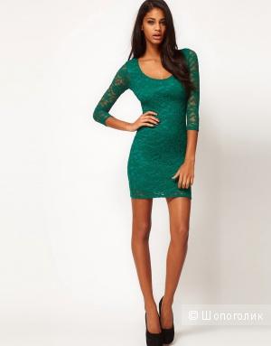 Новое платье ASOS зеленое 6-8 uk