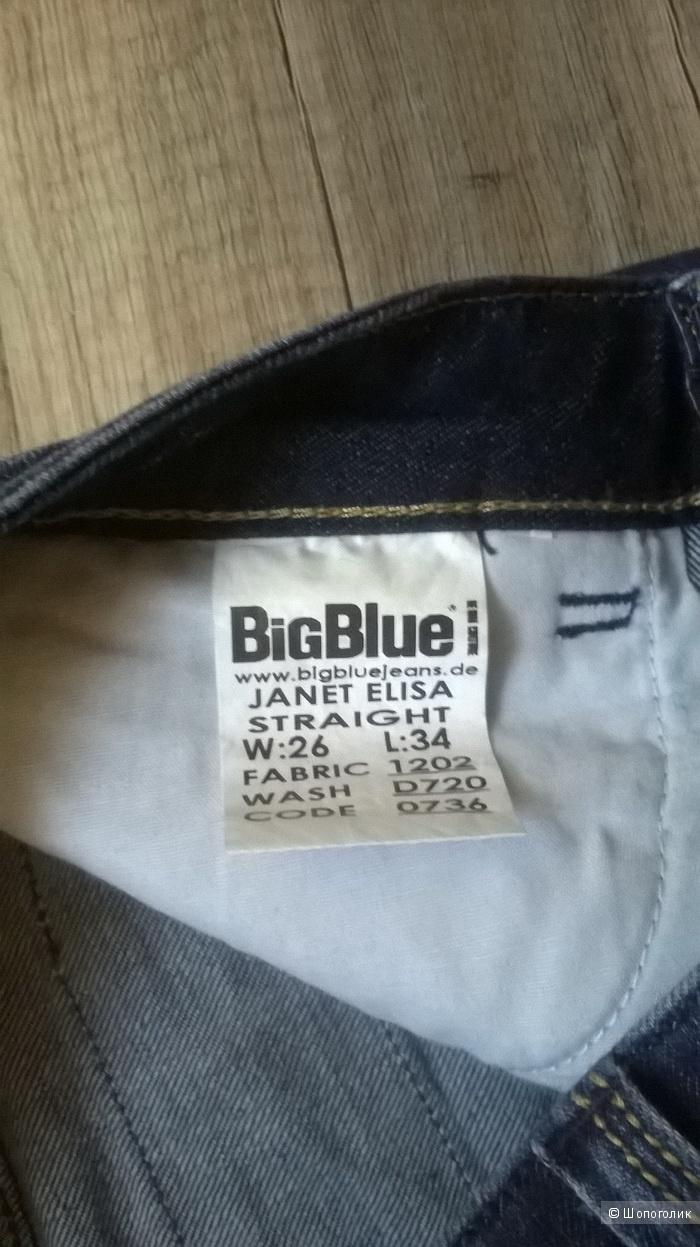 Джинсы рваные BIG BLUE 42-44 размер НОВЫЕ