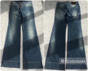 Новые широкие джинсы Roberto Cavalli