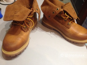 Женские ботинки с отворотом Timberland, размер 5UK/24,5 см по стельке. Новые.