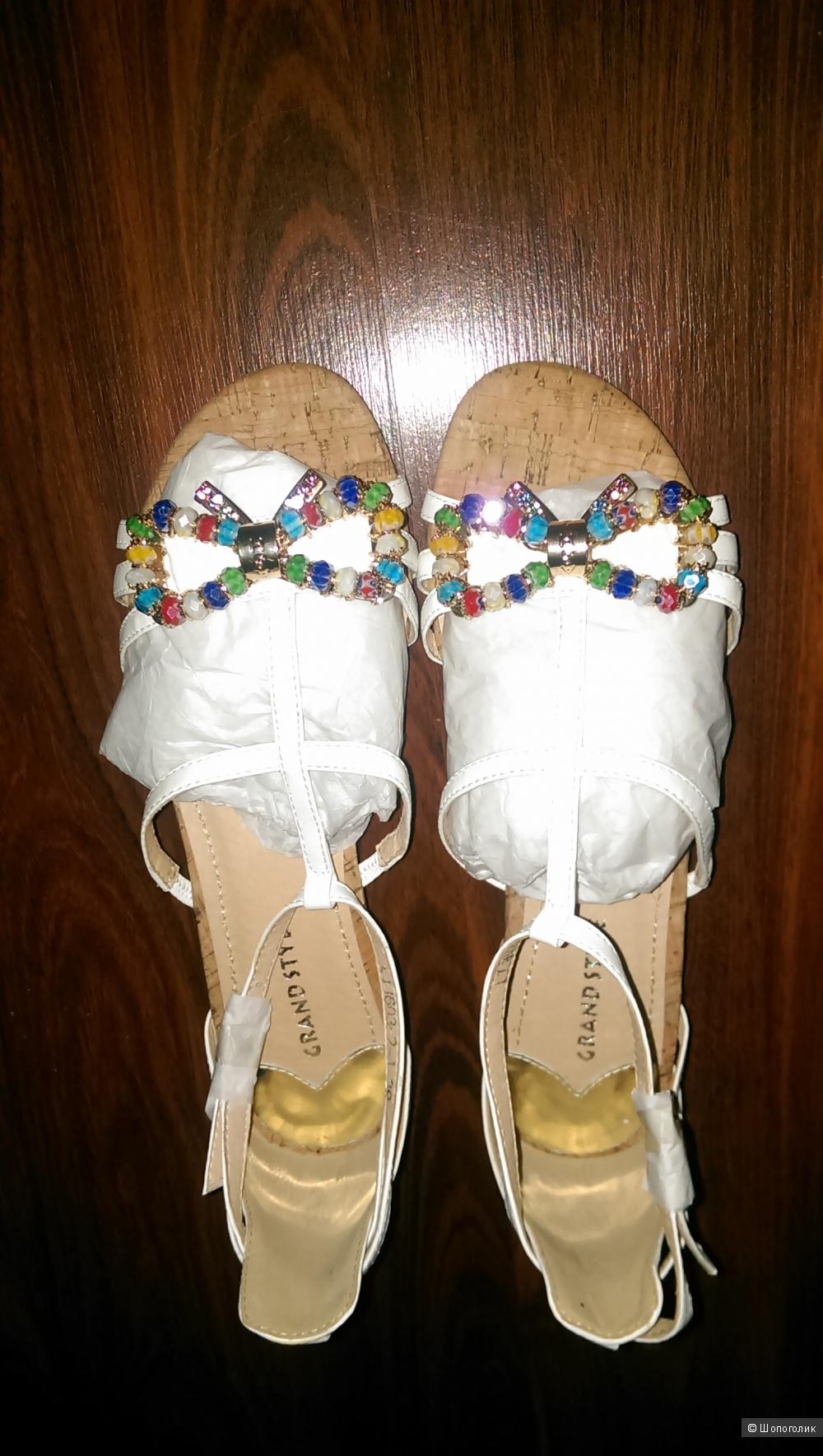 Кожаные сандалии Grand style, 38,39,40