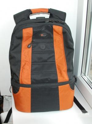 Рюкзак для фотоаппарата Lowepro CompuDaypack, состояние нового. Использовался пару раз.
