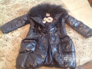 Итальянское пальто на пуху