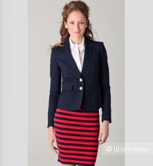 Оригинальный пиджак (блейзер) Juicy Couture темно-синего цвета 42-44 (size Small)