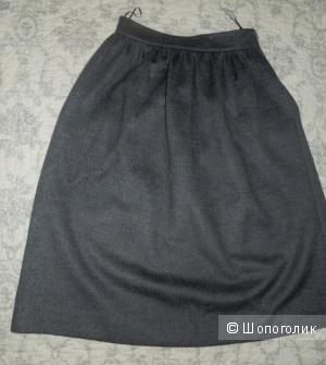 Теплая миди юбка Zara на XS, S