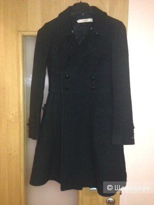 Пальто черное red valentino 42-44