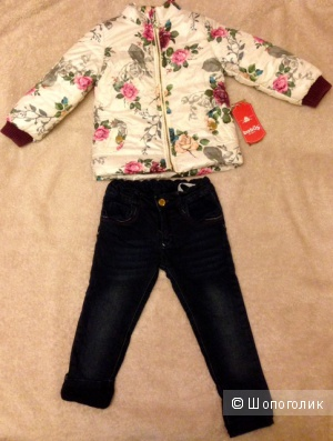 Комплект для девочки Bebus(Бебуш ), размер 92( на 2года).