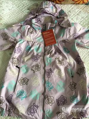Новая куртка-ветровка Ticket 10 лет