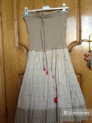 Новое платье-сарафан ф. Paul brial (хлопок)