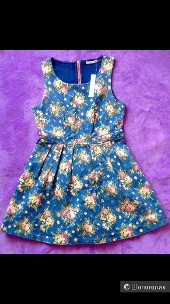 Новое Джинсовое платье Rhyme&Echo из США.