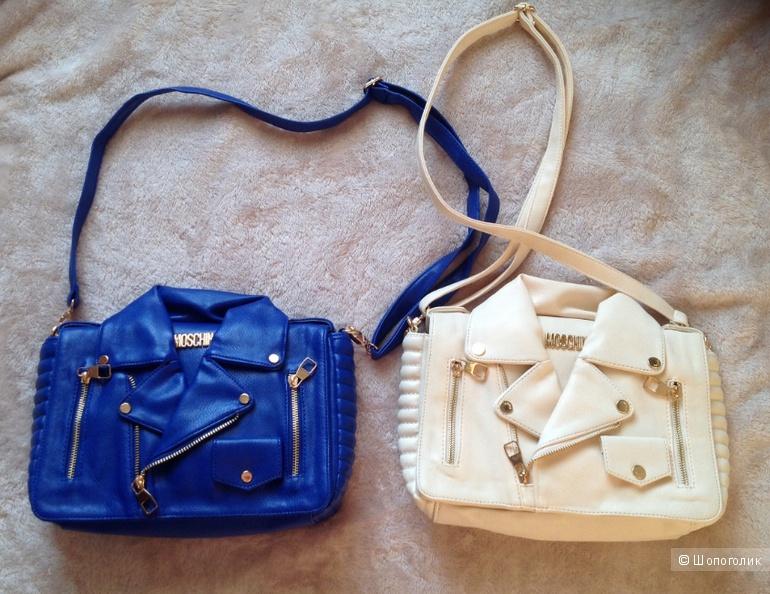 Новая молочная сумочка-жакет.