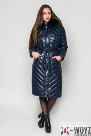 Элегантная зимняя куртка.