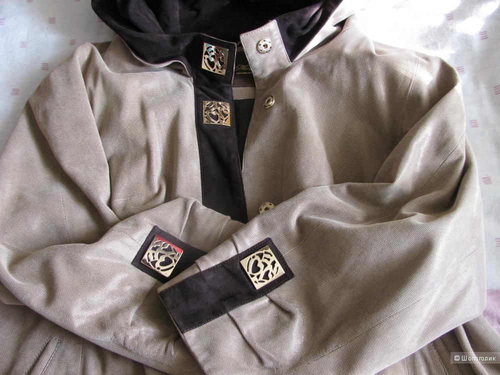 Продам натуральную замшевую куртку