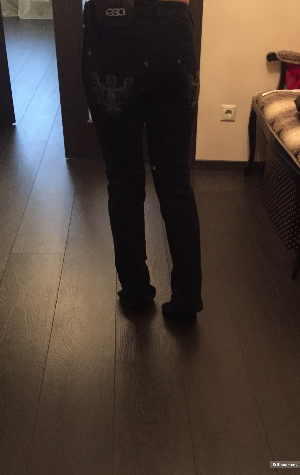 Новые джинсовые брюки DB9