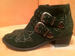 Ботиночки Mariga зеленые 36 размер