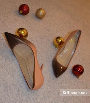 Новые туфли  Лабутены натуральная кожа