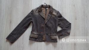 Max Mara джинсовый жакет 40-42