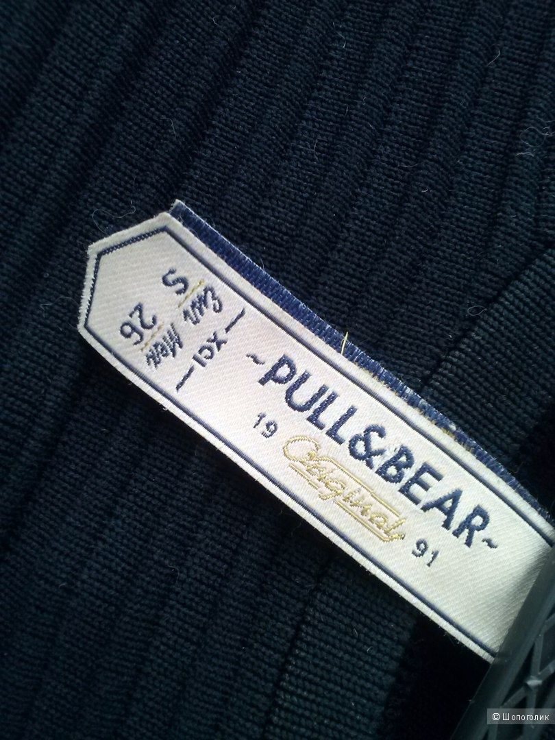 "Платье ""резинка"" от Pull and Bear черного цвета , S-26-42"