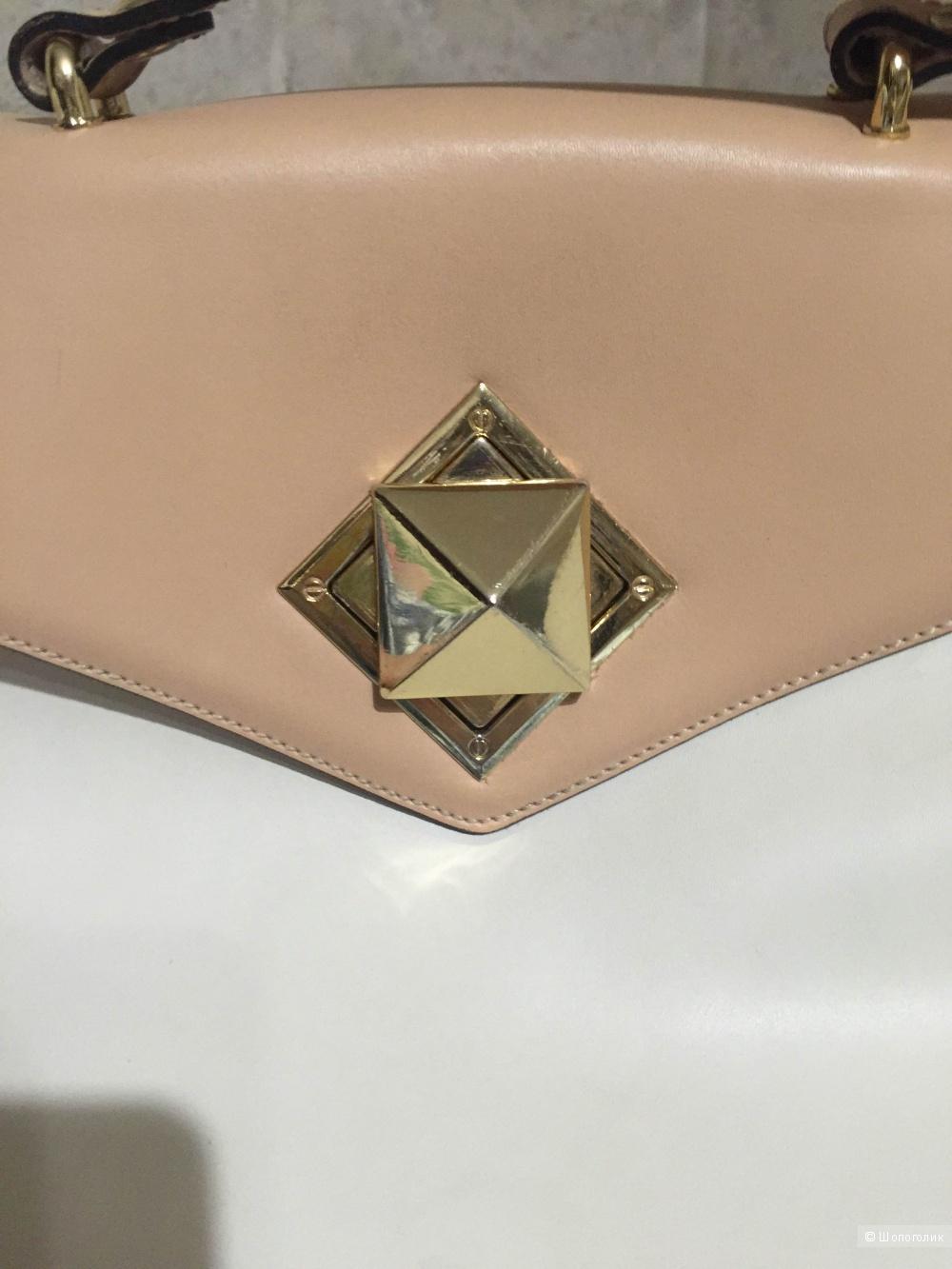 Кожаная сумка Эконика
