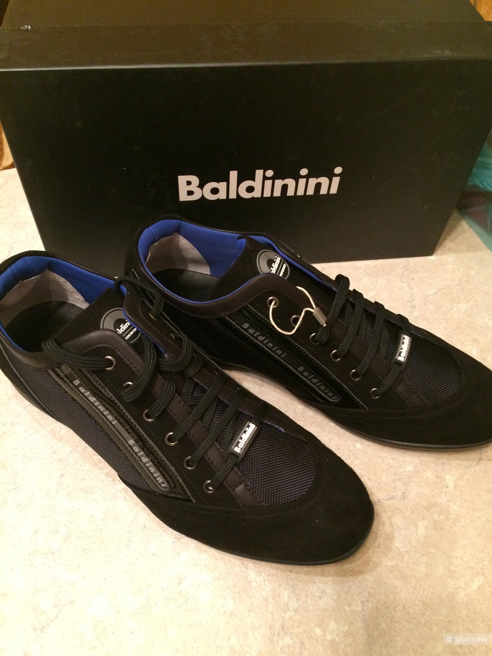 3fce5f4ecad1 Туфли Baldinini, 44 размер., в магазине YOOX — на Шопоголик