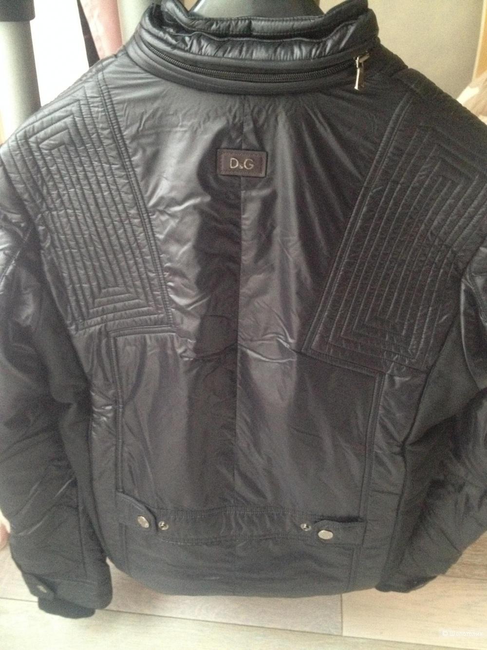 Новая мужская куртка DolceGabbana (D&G). Оригинал. Размер 48.