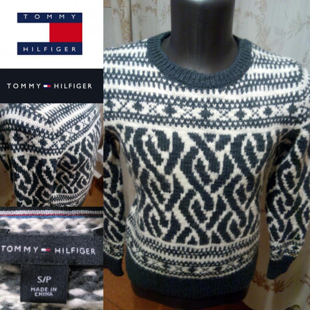 Новый свитер джакет Tommy Hilfiger S размер
