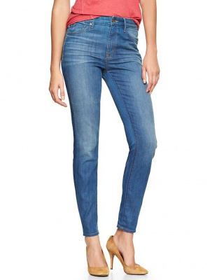 Новые джинсы Gap 1969 high-rise skinny jeans p.42