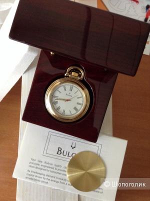 Bulova часы карманные/настольные