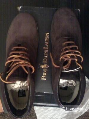 Кеды POLO RALPH LAUREN новые р. 45 (Европейский Размер)  дизайнер:12 (US)  Темно-коричневый