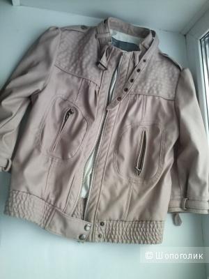 Куртка Zara 42-44 бежевая