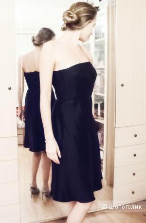 Коктейльное платье Ann Taylor из натурального шелка размер 00