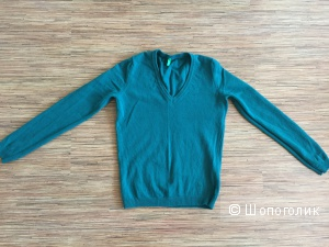Пуловер Benetton 100%  шерсть