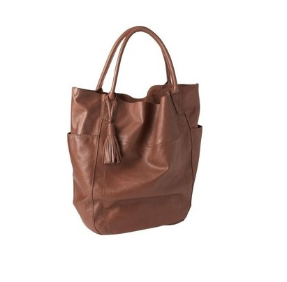 Новая сумка шоппер GAP натуральная кожа