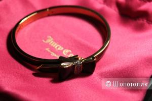 Стильный браслет с бантиком от Juicy Couture