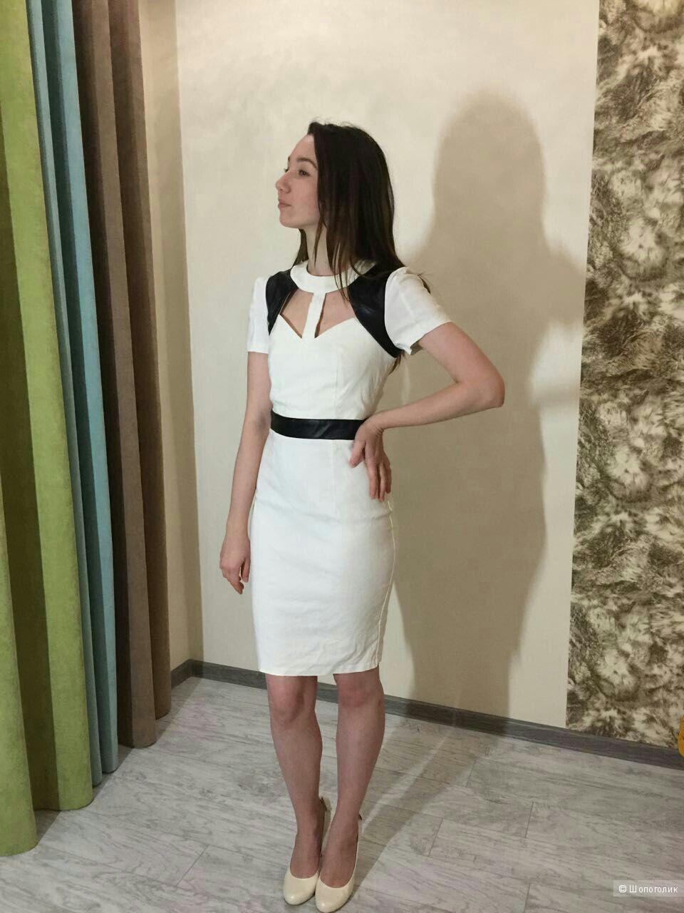 Сногсшибательное платье Paper Dolls, новое, р. 10UK