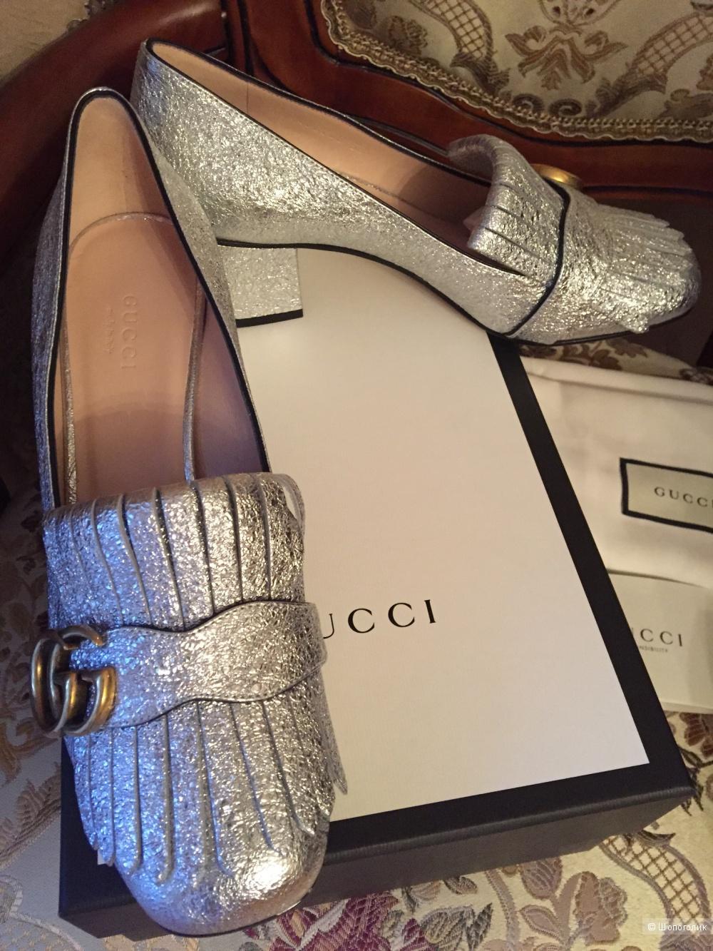 Продаю новые, роскошные, оригинальные туфельки Gucci.