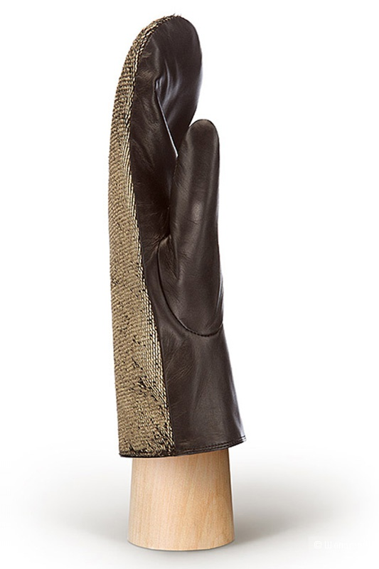 Новые кожаные варежки Eleganzza 7,5 размера
