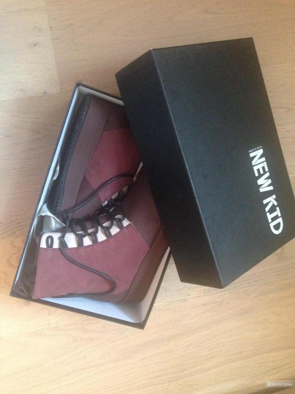 Продам ботинки итальянские New kid новые