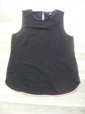 Топ - майка H&M чёрная 46 размер НОВАЯ