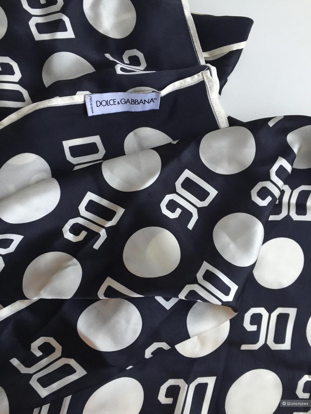 Шелковый шарф женский Dolce &Gabbana