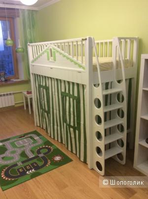 Кровать-чердак для ребёнка 80*180 см