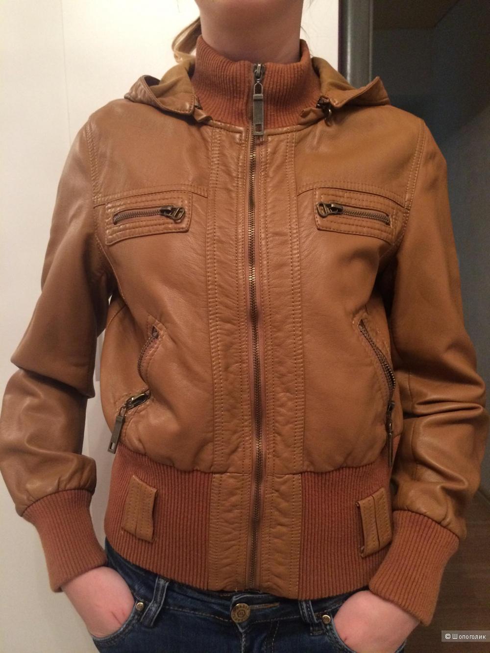 Абсолютно новая куртка Parisian натуральная кожа