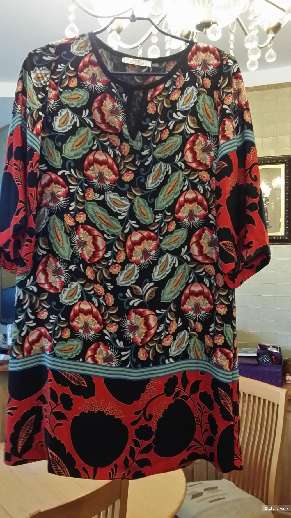 Платье Mango xs размер (40-44) на подкладе