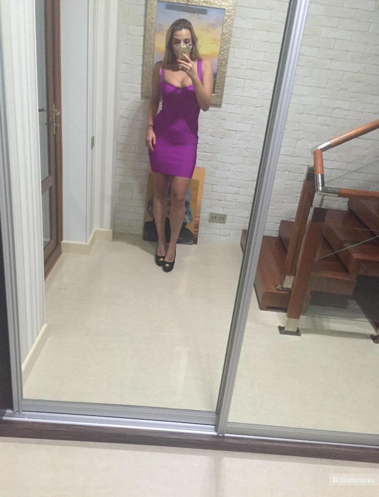 Платье бандажное Herve Leger