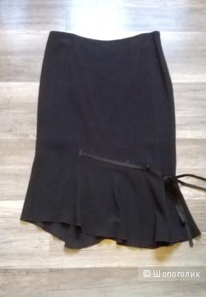 Юбка чёрная MARIA GRAZIA SEVERI Италия 44 размер НОВАЯ