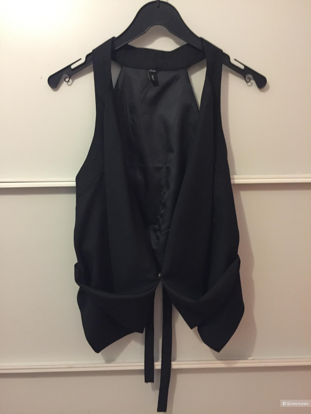 Жилетка Zara, цвет чёрный, размер 40-42